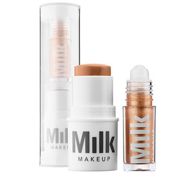 MILK MAKEUP Matte Bronzer + Liquid Strobe Set