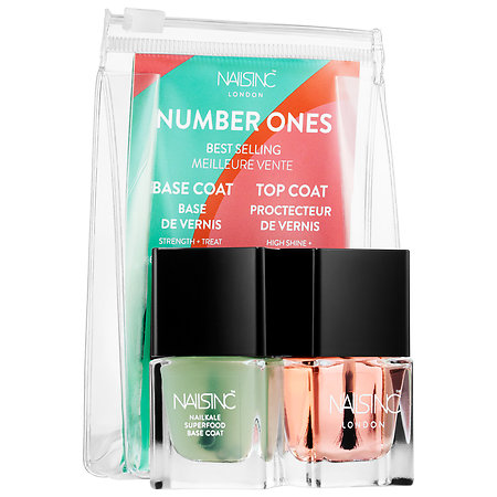 NAILS INC. Number 1s Base and Top Coat Duo 2 x 0.17 oz/ 5 mL