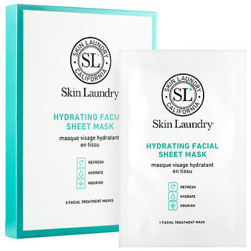 Skin Laundry Hydrating Facial Sheet Mask 5 Facial Treatment Masks