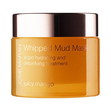 Josie Maran Whipped Mud Mask Argan Hydrating and Detoxifying Treatment Juicy Mango 1.7 oz/ 52 g