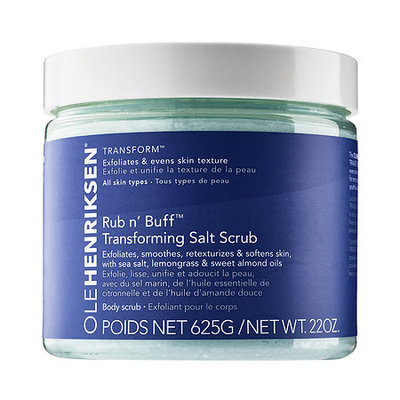 Ole Henriksen Rub n' Buff(TM) Transforming Salt Scrub 22 oz/ 625 g
