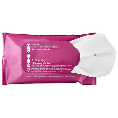Ole Henriksen So Nurturing(TM) Cleansing Cloths 10 facial cleansing cloths