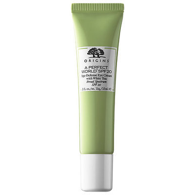 Origins A Perfect World™ SPF 20 Age-Defense Eye Cream with White Tea
