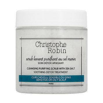 Christophe Robin Cleansing Purifying Scrub with Sea Salt 2.7 oz/ 75 mL