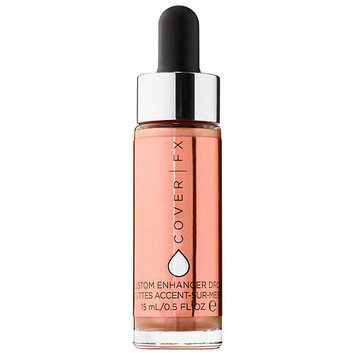 COVER FX Custom Enhancer Drops Rose Gold 0.5 oz/ 15 mL