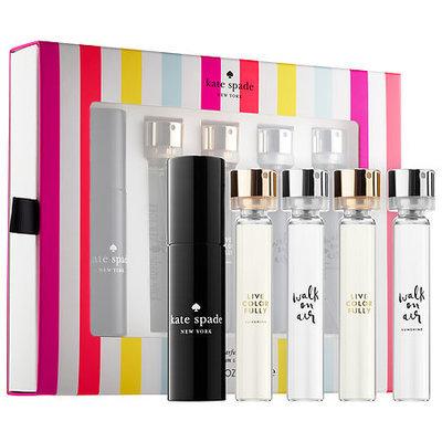 kate spade new york Refillable Purse Spray Coffret 4 x 0.34 oz/ 10 mL