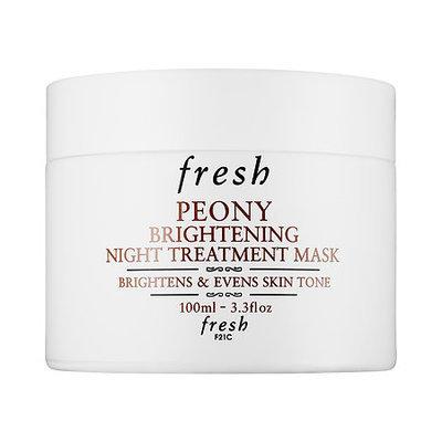 Fresh Peony Brightening Night Treatment Mask 3.3 oz/ 100 mL