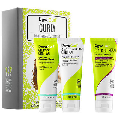 DevaCurl Curly Mini Transformation Kit
