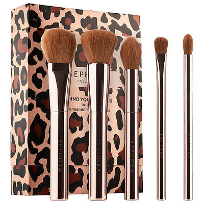 SEPHORA COLLECTION Mind Your Metals Brush Set