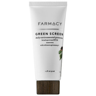 Farmacy Green Screen Daily Environmental Protector Broad Spectrum SPF 30 Sunscreen with Echinacea GreenEnvy