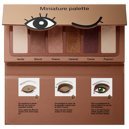 SEPHORA COLLECTION Miniature Palette Cookie Shades Collection