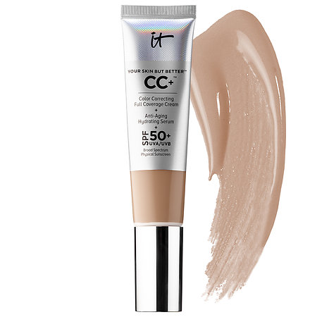IT Cosmetics Your Skin But Better™ CC+™ Cream with SPF 50+ Medium Tan 1.08 oz/ 32 mL
