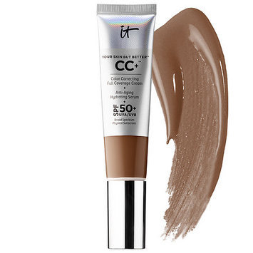 IT Cosmetics Your Skin But Better™ CC+™ Cream with SPF 50+ Warm Deep 1.08 oz/ 32 mL