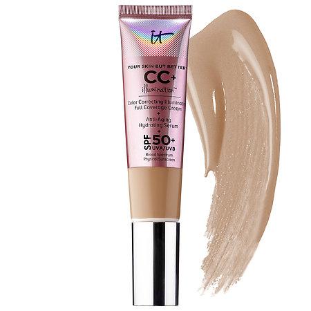 IT Cosmetics Your Skin But Better™ CC+Illumination™ Cream with SPF 50+ Medium Tan 1.08 oz/ 32 mL