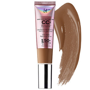 IT Cosmetics Your Skin But Better™ CC+Illumination™ Cream with SPF 50+ Warm Deep 1.08 oz/ 32 mL