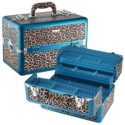 SEPHORA COLLECTION License to Leopard Large Traincase