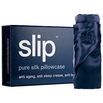 Slip Silk Pillowcase - Standard/Queen Navy