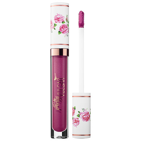 Pretty Vulgar My Lips Are Sealed Liquid Lipstick Forget Me Not 1 oz/ 3mL