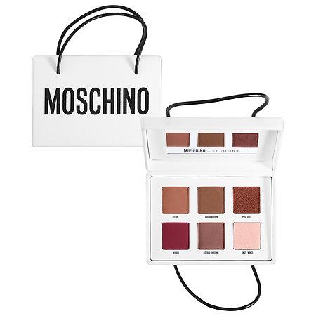 SEPHORA COLLECTION MOSCHINO + SEPHORA Shopping Bag Eyeshadow Palette MOSCHINO + SEPHORA Shopping Bag Eyeshadow Palette 6 x 0.042 oz/ 1.2 g