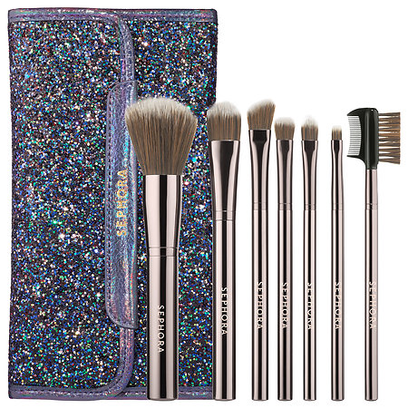 Sephora Collection Dark Rainbow Antibacterial Brush Set