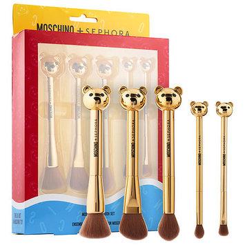 SEPHORA COLLECTION MOSCHINO + SEPHORA Bear Brush Set