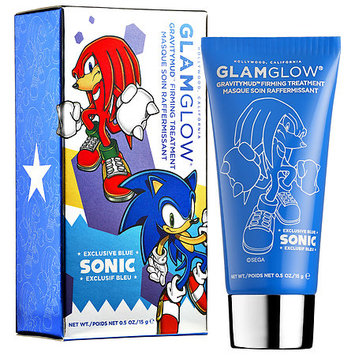 GLAMGLOW GRAVITYMUD™ Firming Treatment Sonic Blue Collectible Edition Knuckles