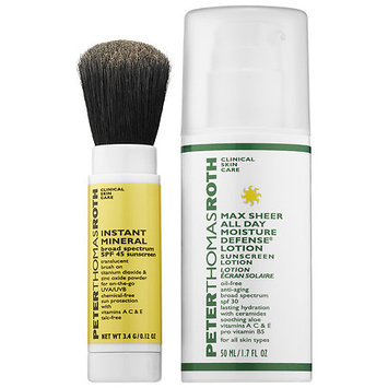 Peter Thomas Roth Instant Mineral & Max Sheer SPF Duo
