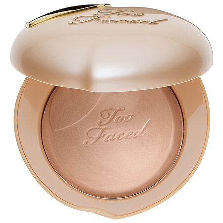 Too Faced Peach Frost Melting Powder Highlighter - Peaches & Cream Collection Happy Face