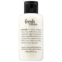 philosophy Fresh Cream Shampoo, Shower Gel, & Bubble Bath 4.0 oz/ 120 mL