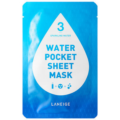 LANEIGE Water Pocket Sheet Mask Sparkling Water (Brightening)
