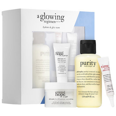 philosophy A Glowing Regimen Trial Set