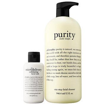 philosophy Purity Jumbo & Microdelivery Facial Wash Bundle