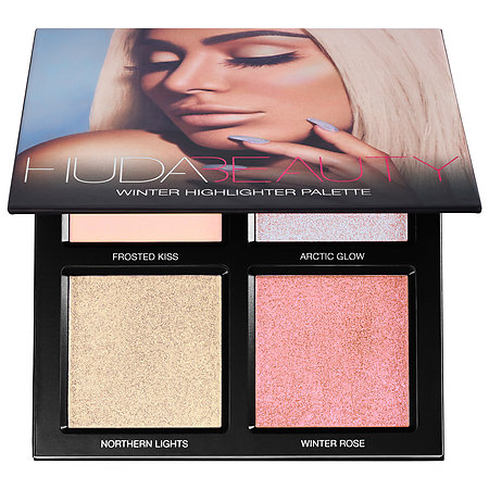 Huda Beauty Highlighter Palette - Winter Solstice Palette