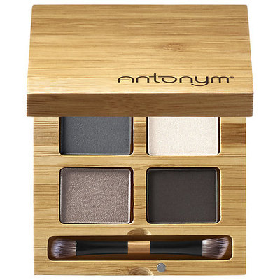 Antonym Certified Organic Eyeshadow Quattro To The Moon and Black 0.21 oz/ 6 g