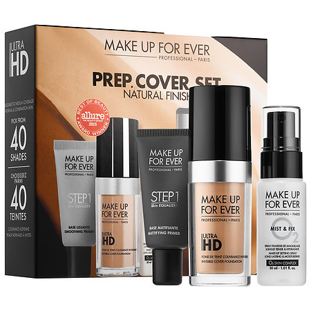 MAKE UP FOR EVER PREP. COVER. SET. Customizable Ultra HD Invisible Cover Foundation Set