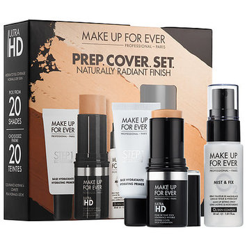 MAKE UP FOR EVER PREP. COVER. SET. Customizable Ultra HD Invisible Cover Stick Foundation Set