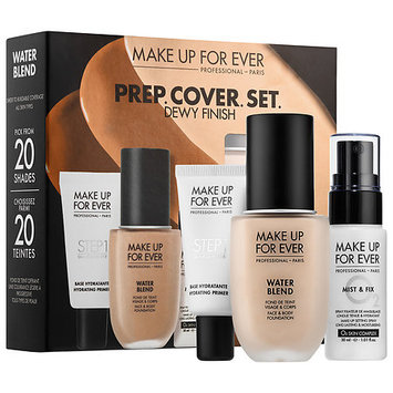 MAKE UP FOR EVER PREP. COVER. SET. Customizable Water Blend Face & Body Foundation Set
