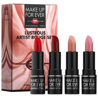 MAKE UP FOR EVER Lustrous Artist Rouge Lipstick Set
