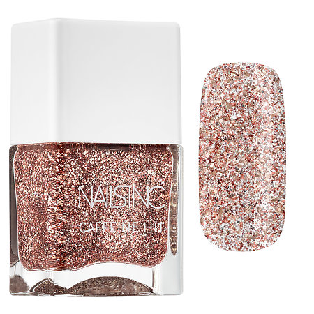NAILS INC. Caffeine Hit Nail Polish Collection Rise & Grind 0.47 oz/ 14 mL