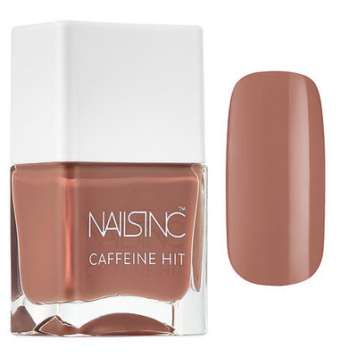 NAILS INC. Caffeine Hit Nail Polish Collection Chai Kiss 0.47 oz/ 14 mL