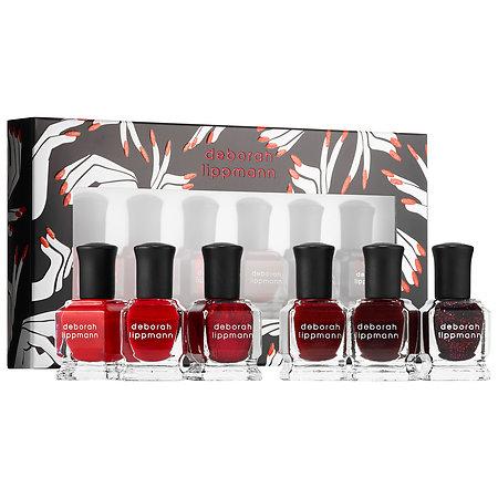 Deborah Lippmann Lady In Red - Shades of Red Nail Polish Set 6 x 0.27 oz