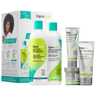 DevaCurl Miracle Workers The Customized Kit for Super Curly Hair