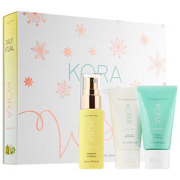 KORA Organics Daily Ritual Kit for Oily/Combination Skin