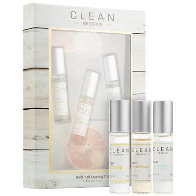 CLEAN Reserve Rollerball Layering Trio 3 x 0.17 oz/ 5 mL