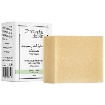 Christophe Robin Hydrating Shampoo Bar with Aloe Vera 3.53 oz/ 100 g