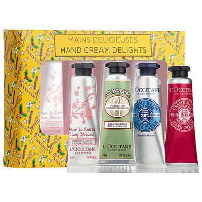 L'Occitane 4-Piece Hand Cream Delights