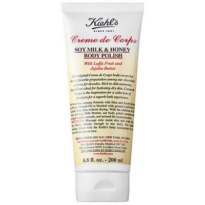 Kiehl's Since 1851 Creme de Corps Soy Milk & Honey Body Polish 6.8 oz/ 200 mL