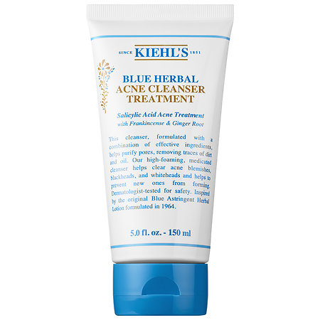 Kiehl's Since 1851 Blue Herbal Acne Cleanser Treatment 5 oz/ 150 ml