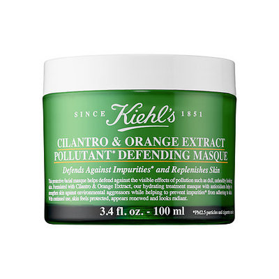 Kiehl's Since 1851 Cilantro & Orange Extract Pollutant Defending Mask 3.4 oz/ 100 mL