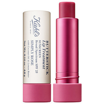 Kiehl's Since 1851 Butterstick Lip Treatment SPF 25 Simply Rose 0.14 oz/ 4 g